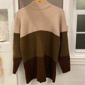 Ombré brown sweater